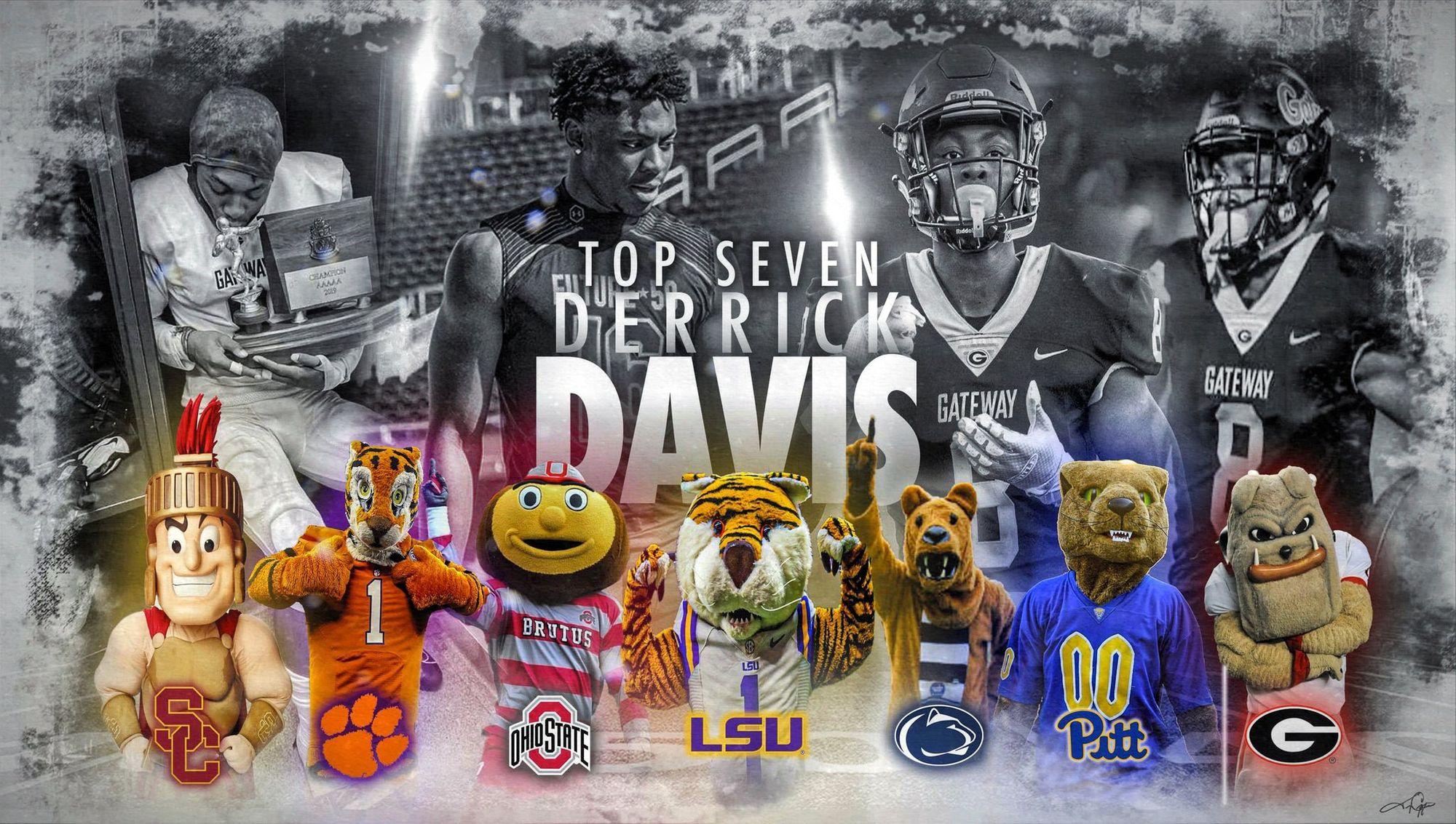 Class of 2021 safety Derrick Davis Jr. narrows his list down to 7