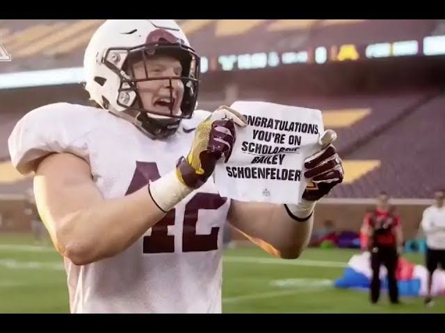 What Happens After a Football Player Gets Surprised With a Scholarship?