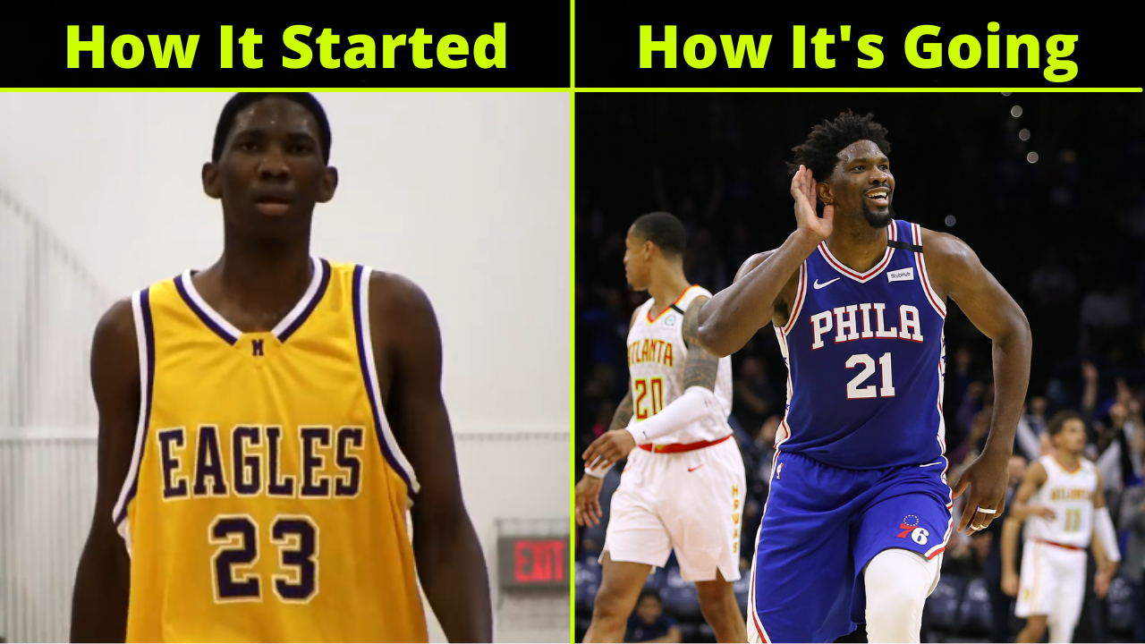 Joel Embiid's Journey From Cameroon To The NBA All-Star Game