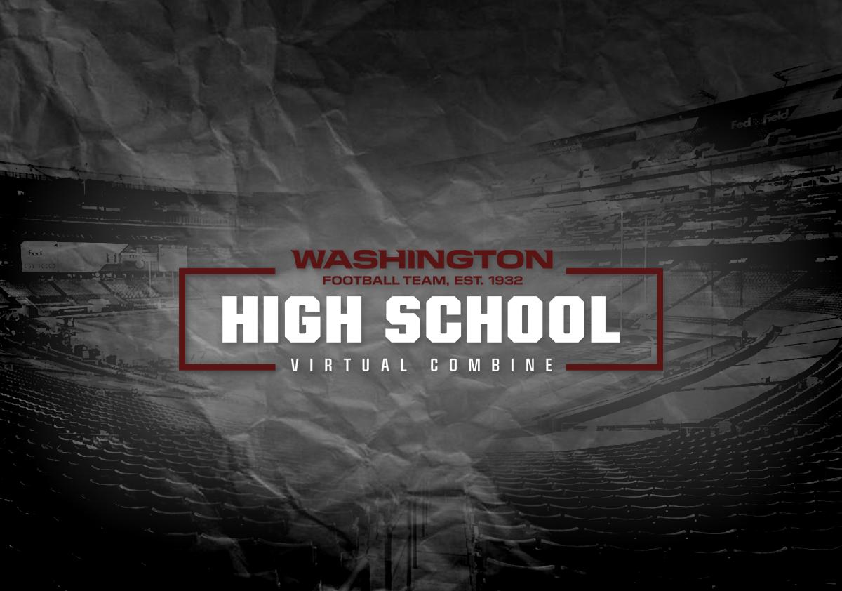 Washington Football Team Hosts High School Virtual Combine on GMTM