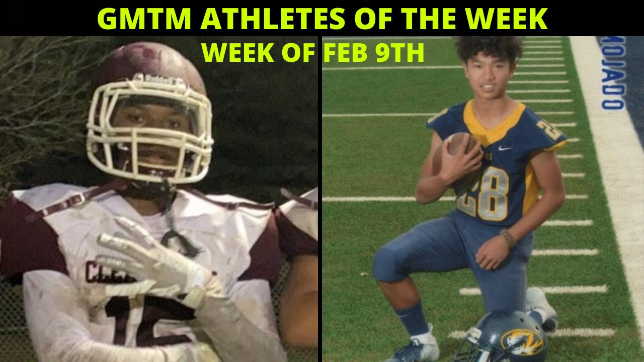 GMTM Athletes Of The Week - February 9, 2021