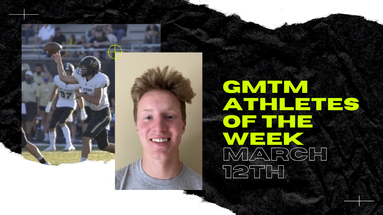 GMTM Athletes Of The Week - April 12th, 2021