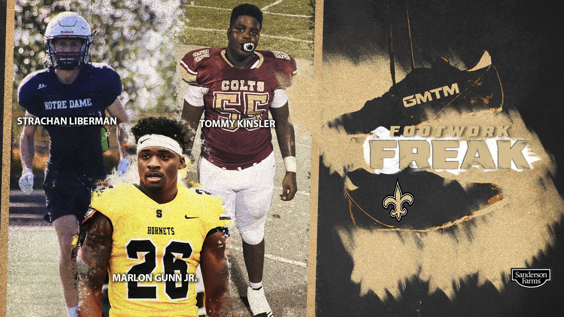 Footwork Freaks: Three Recruits Who Made Moves In The Saints' High School Showcase