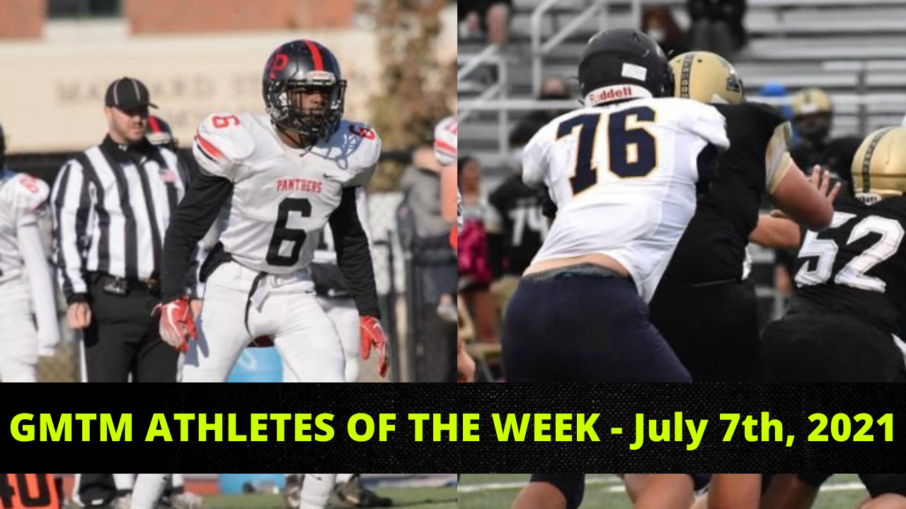 Athletes Of The Week - July 7th, 2021
