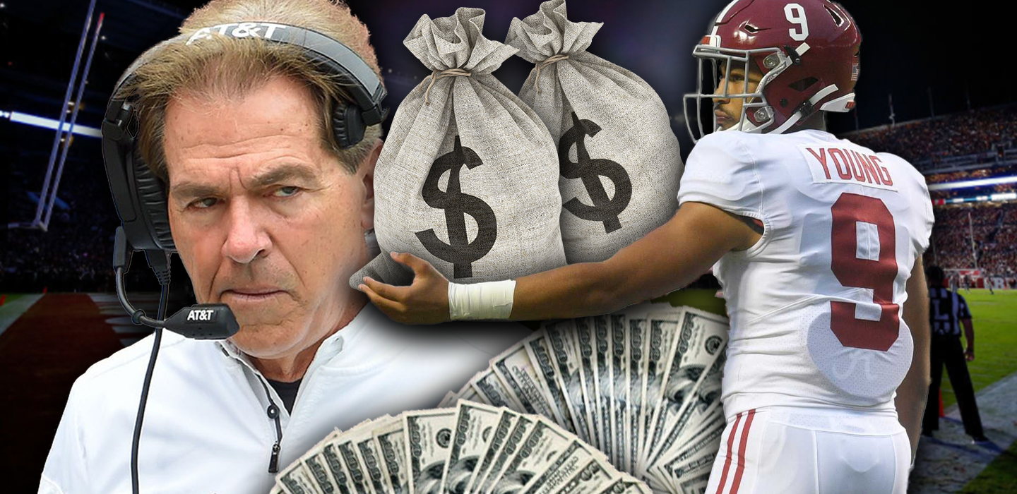 """Saban on Alabama QB Bryce Young: """"He's already made close to $1M from endorsements"""""""