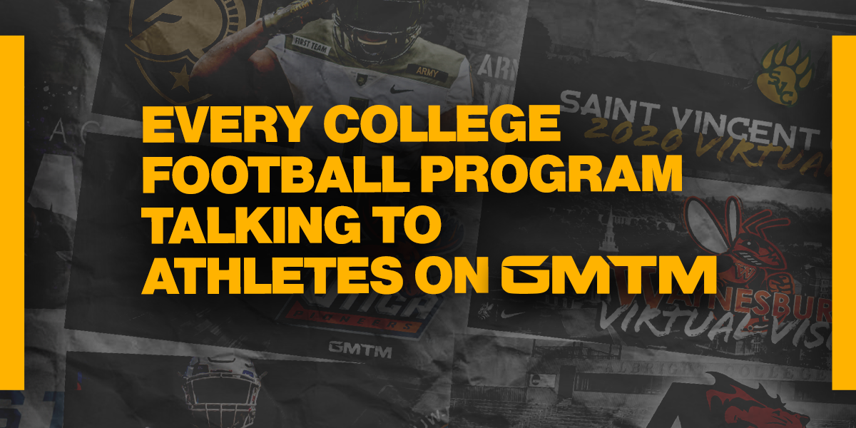 Every College Football Program Talking To Athletes On GMTM