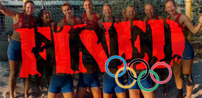 Norway's Olympic Beach Handball Team fined for 'not wearing bikini bottoms'