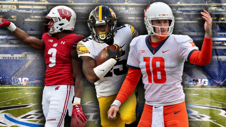 College Football's Big Men On Campus: Big Ten West