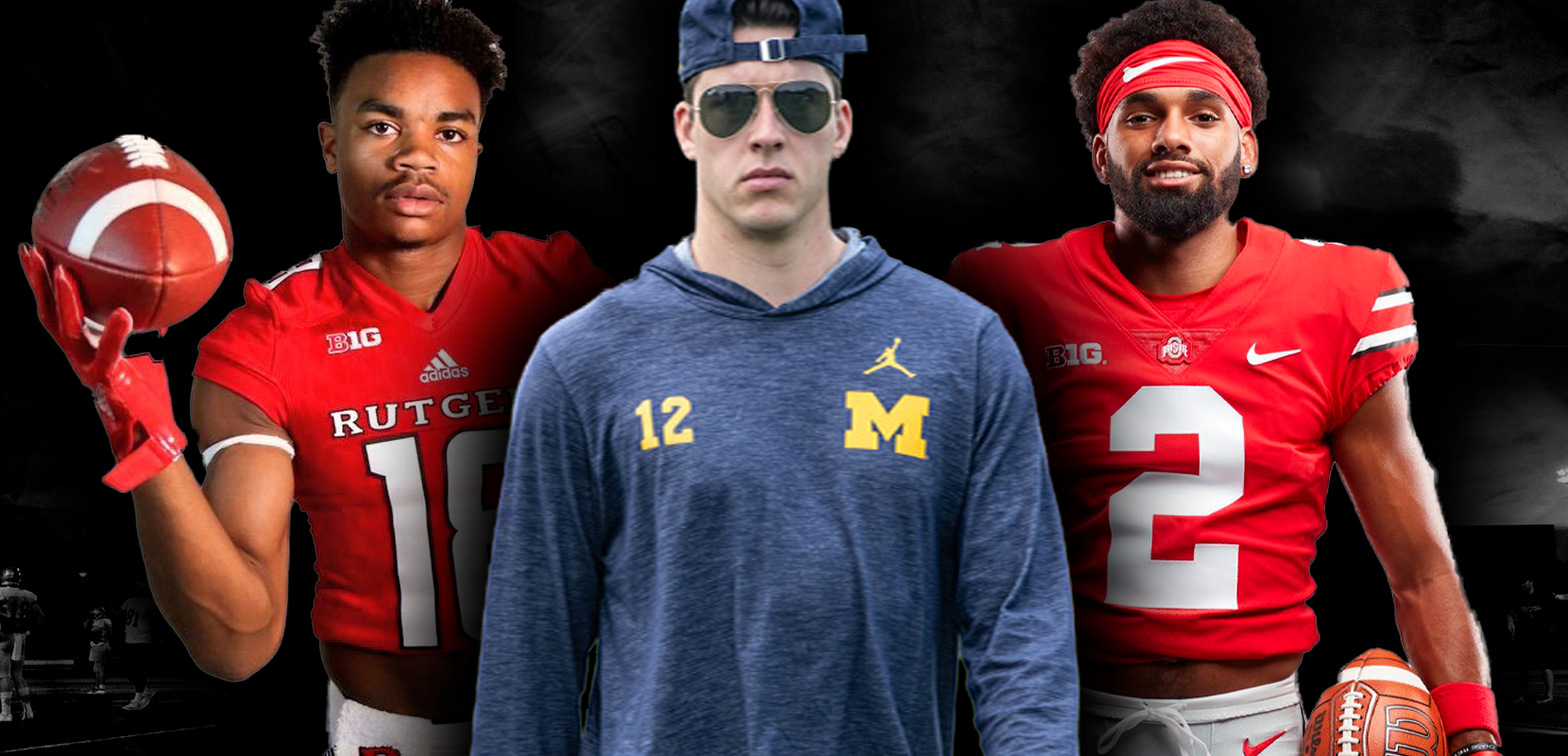 College Football's Big Men On Campus: Big Ten East