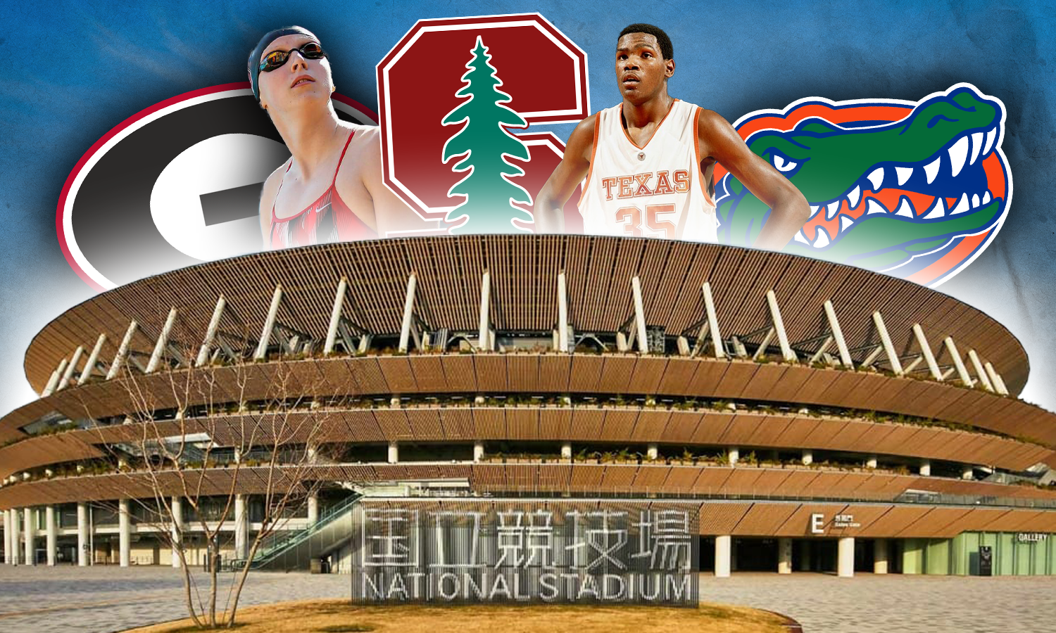 Which universities have the most athletes in the Tokyo Olympics?