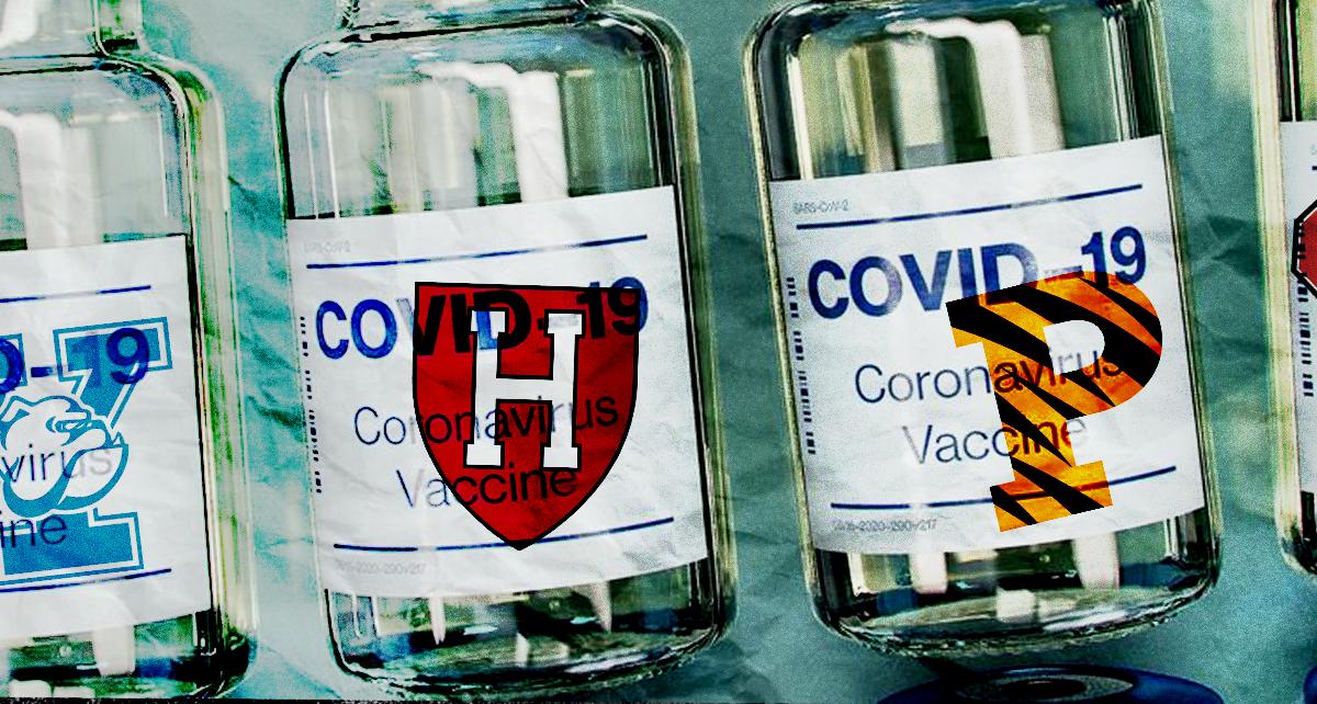 Ivy League Schools Now Require Football Teams To Get COVID-19 Vaccine