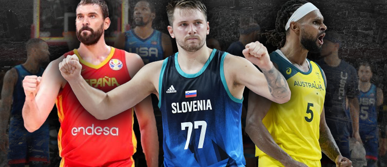 Tokyo Olympics: The Three Biggest Threats to Team USA Men's Basketball