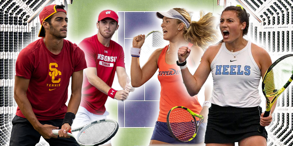 Every College Tennis Rule That Is Different Than The Pros