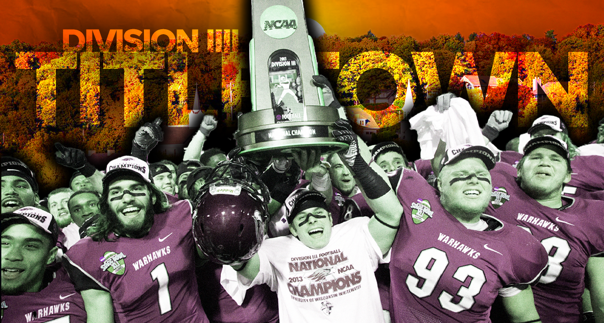 Where to find the most Division III football championships
