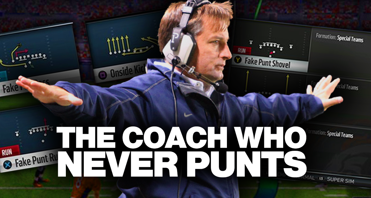 The Curious Football Coach Who Calls Plays Like A Video Game