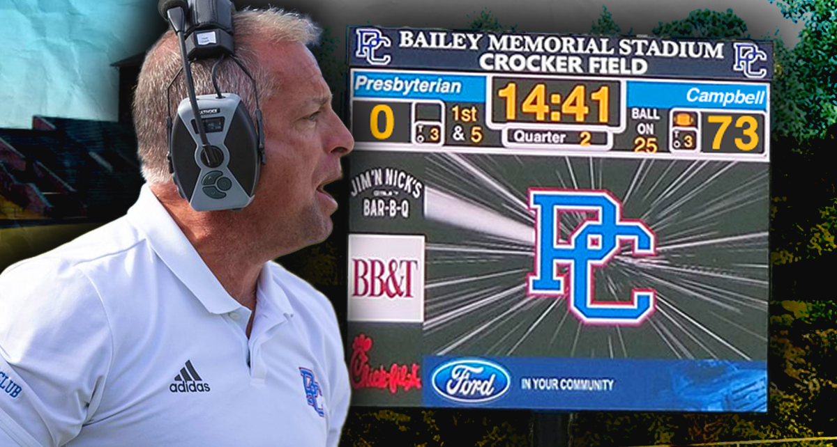 College Football: Presbyterian College Coach Who Doesn't Punt Faces Huge Loss