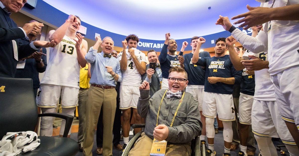 Team Impact: Bringing Smiles To Kids' Faces Through College Sports