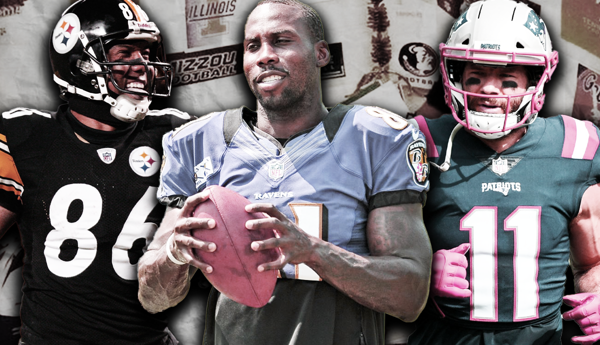 The Four Best Quarterbacks Turned Wide Receivers in NFL History