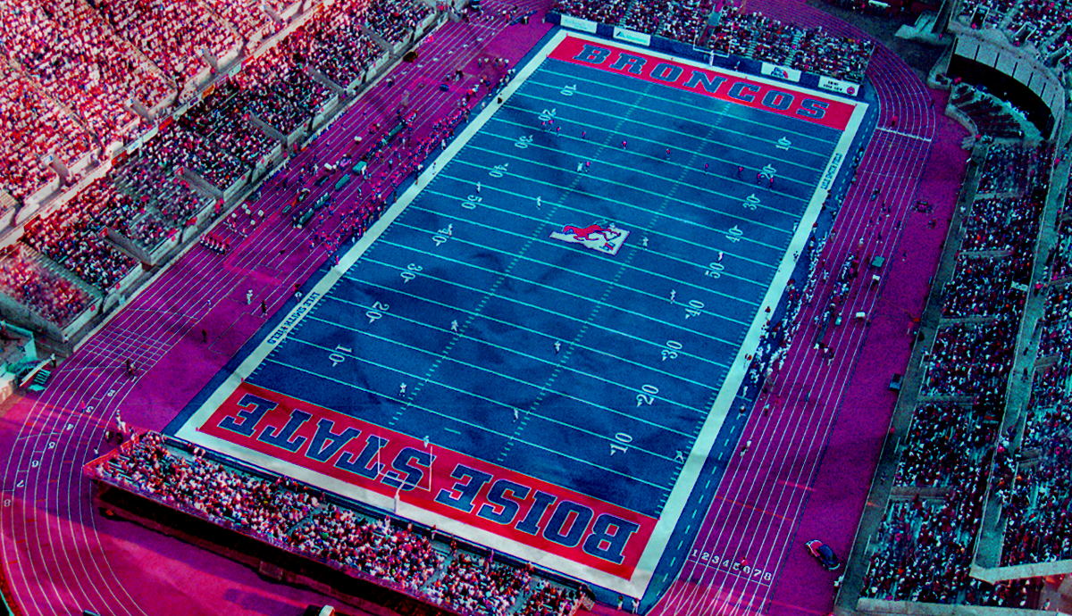 Why Is Boise State's Football Field Blue?